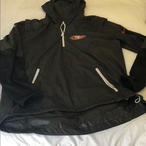 Brand new Nike San Francisco 49ers hooded jacket